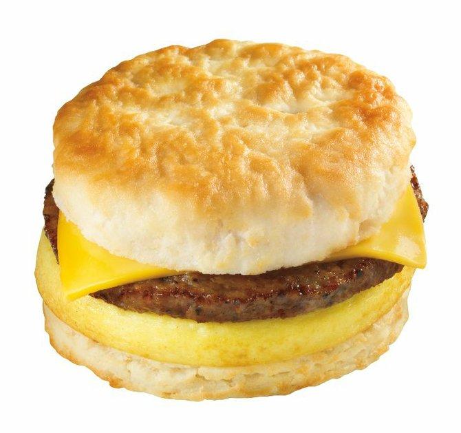 Sage Biscuit Egg Sandwich Recipe — Dishmaps